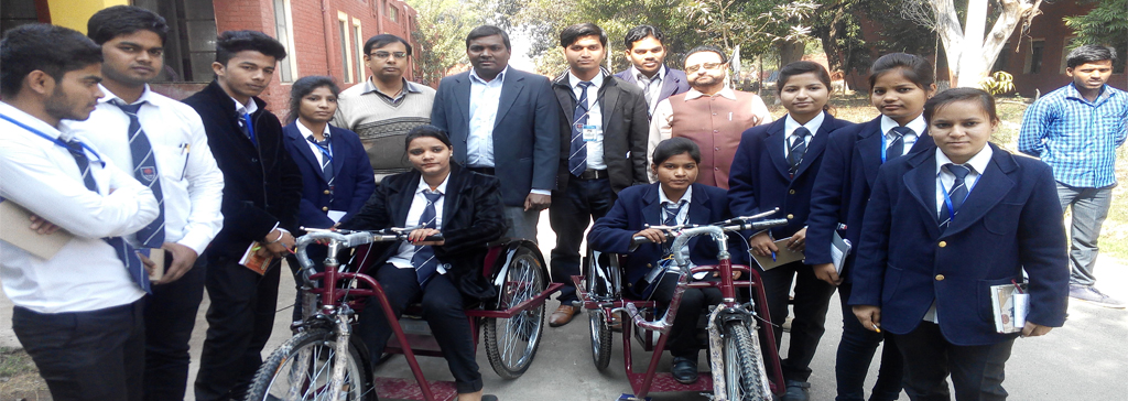 Industrial visit to Artificial Limbs Manufacturing Corporation of India, Kanpur