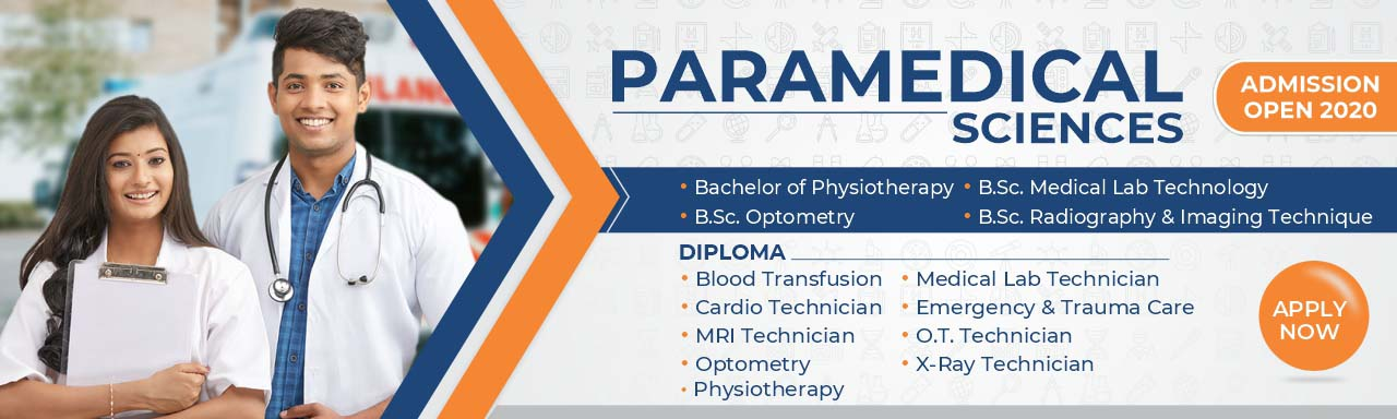Paramedical Admissions-2020