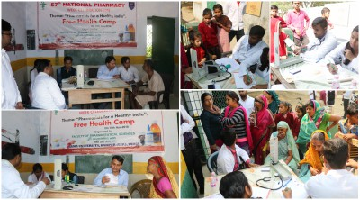 Faculty Pharma Health Camp
