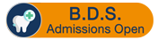 BDS Admissions 2020