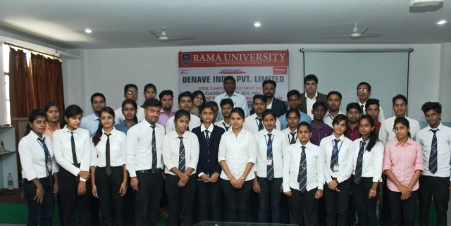 Campus Placement Drive of Denave India