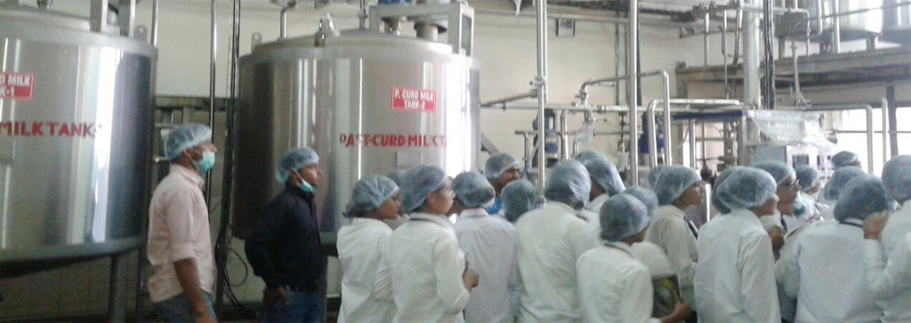 Industrial visit to Namaste India Foods Pvt. Ltd, Kanpur