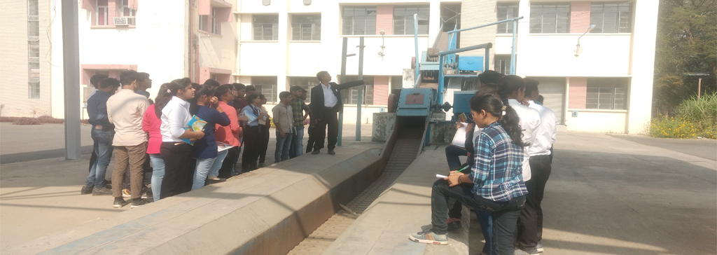 Industrial Visit to National Sugar Institute, Kanpur