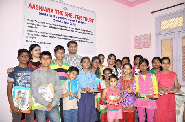 A Day at Ashiana-The Shelter Trust for HIV positive women & children