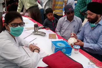 Free Dental Treatment Camp at Transport Nagar, Kanpur