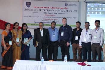 Rama University organized an International Workshop on Educational Technology and Green ICT