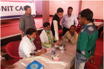 Free Dental Treatment Camp - Makanpur