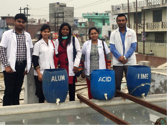 Educational Sewage Treatment Plant Visit
