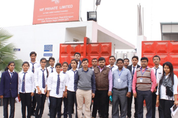 Visit at Namaste India Pvt. Ltd. Kanpur for Biotech Students