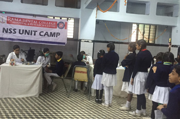 Free Dental Screening Camp at Omar Vaish Montessari School