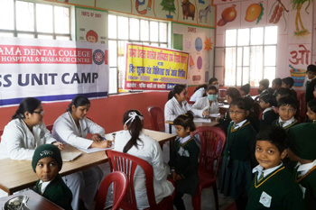 Free Dental Screening Camp at Indra Dhanush Academy, Kanpur
