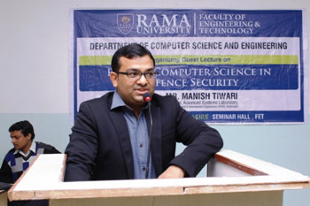 "A seminar on ""Role of Computer Science in Defence Security"""