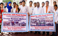 Relief Material Towards Jammu and Kashmir Flood Victims