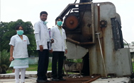 Exposure visit to Ganga Sewage Treatment Plant in Jajmau