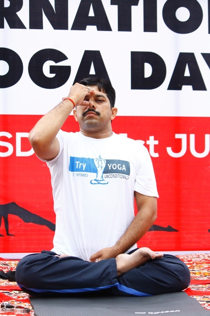 International Yoga Day at Rama University