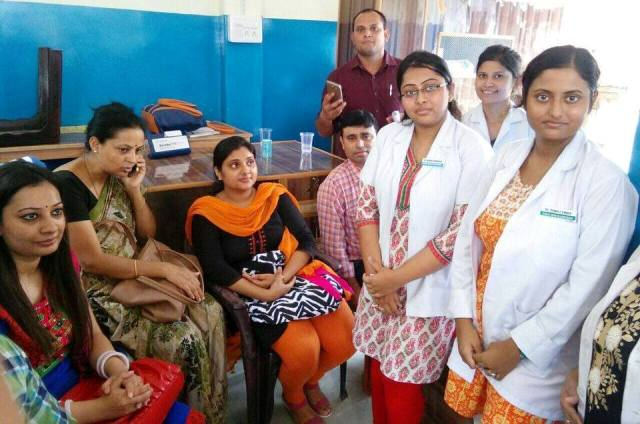 Free Health Checkup Camp at Mansuri Clinic, Unnao
