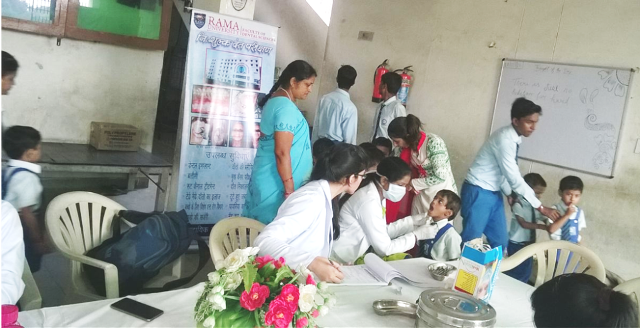 Free Dental Screening Camp at Modern Era Public School, Kanpur