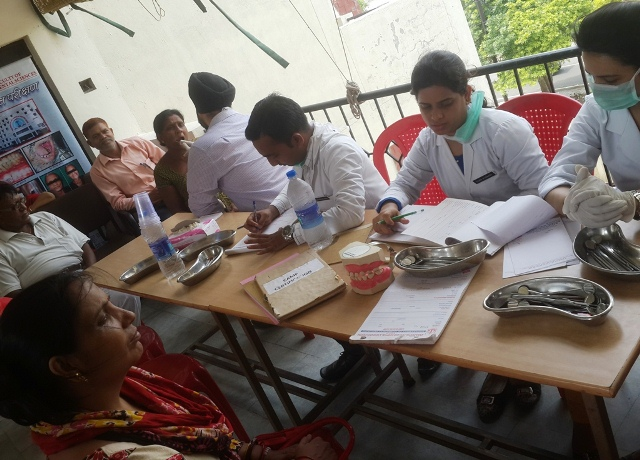 Free  Dental  Treatment  Camp  Kanpur  Dental  College