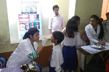 Free Dental Camp at Bhartiya Shiksha Niketan Junior High School