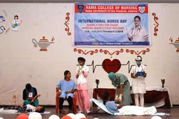 International Nurses Day Celebration - 2016 at Rama University