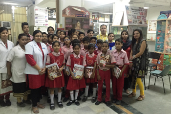 """Happy Teeth – Happy Children"" Campaign - Happy Model School, Indranagar, Kanpur"