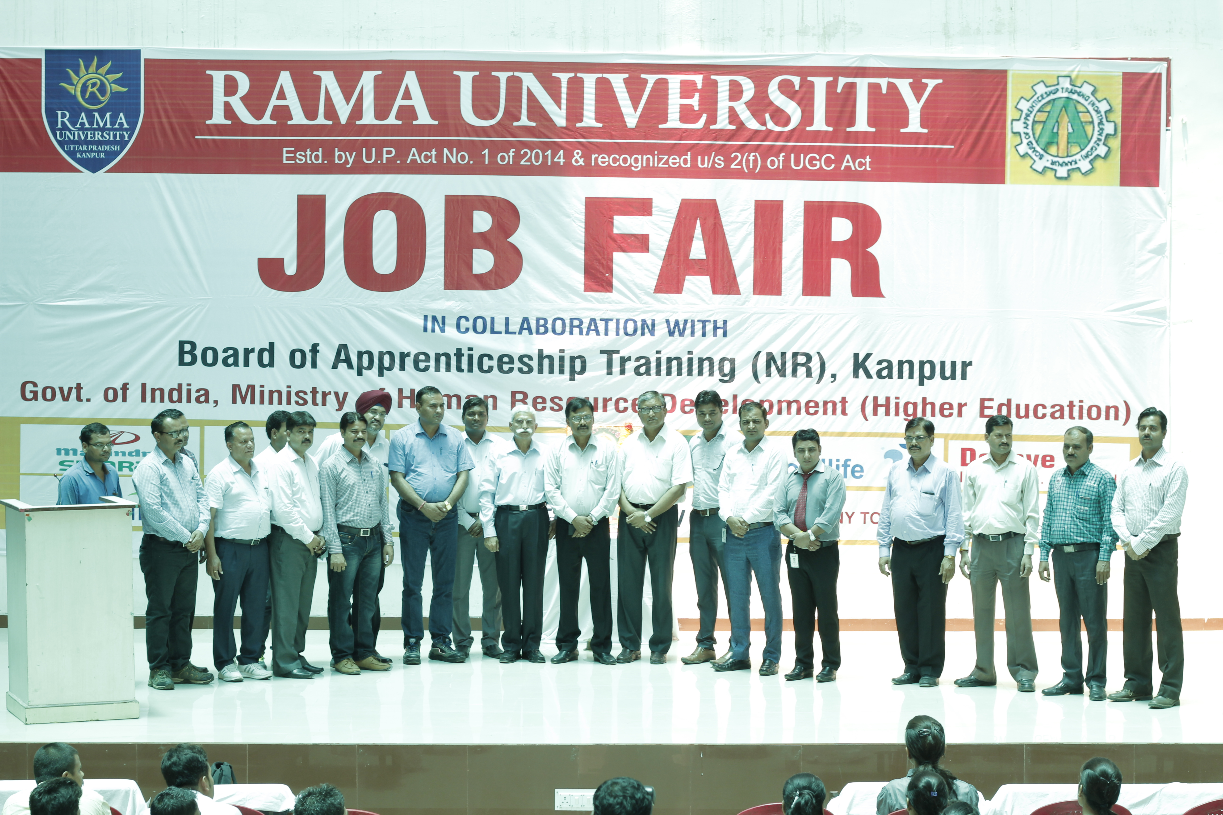 Job Fair at Rama University Uttar Pradesh, Kanpur