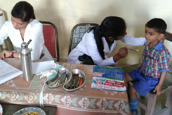 FREE DENTAL SCREENING CAMP-SITARAM SMARAK SCHOOL