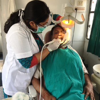 Dental Check-up Camp at Neta Ji Nagar
