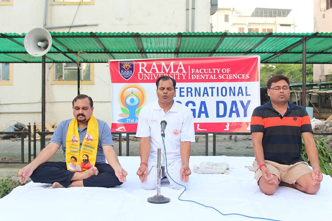 International Yoga Day 21st June 2018 (Kanpur)